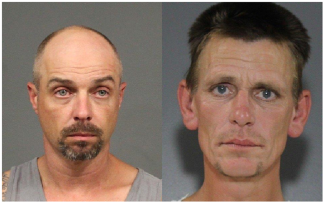 Arson charges hve been approved against Scott Kenneth Campbell, 43, and Stephen Turner, 44.
