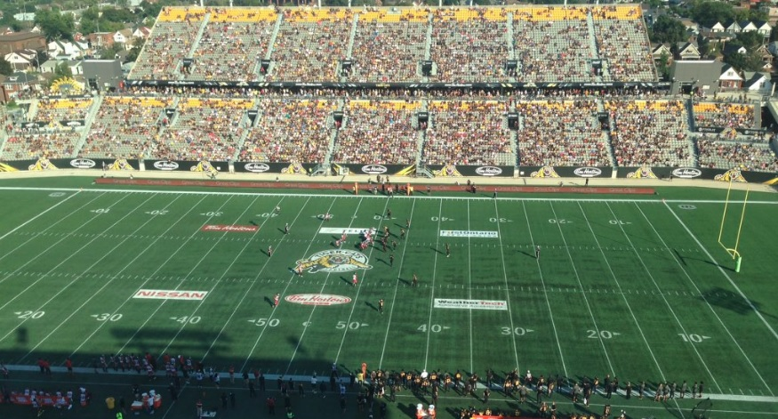 The City of Hamilton last hosted the Grey Cup in 1996.