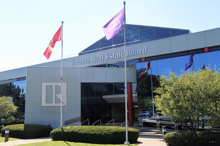 The Toronto Real Estate Board's office in North York.