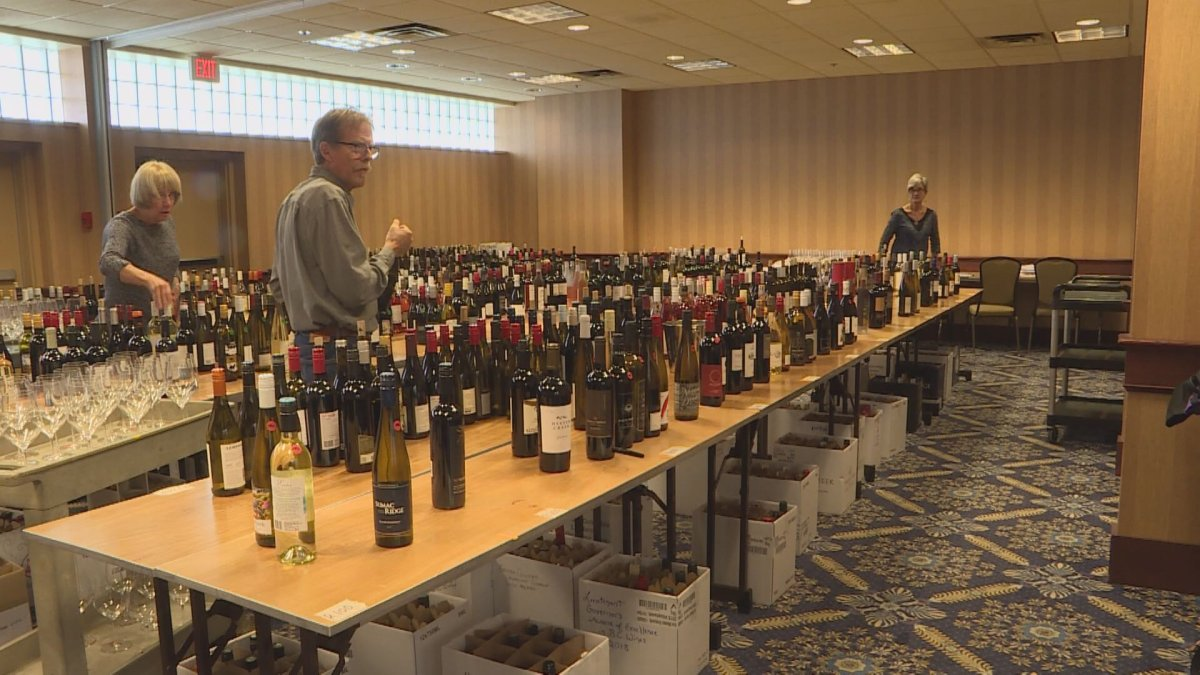 A panel of a dozen judges is tasting more than 700 wines for the 2018 Lieutenant Governor's Wine Awards.