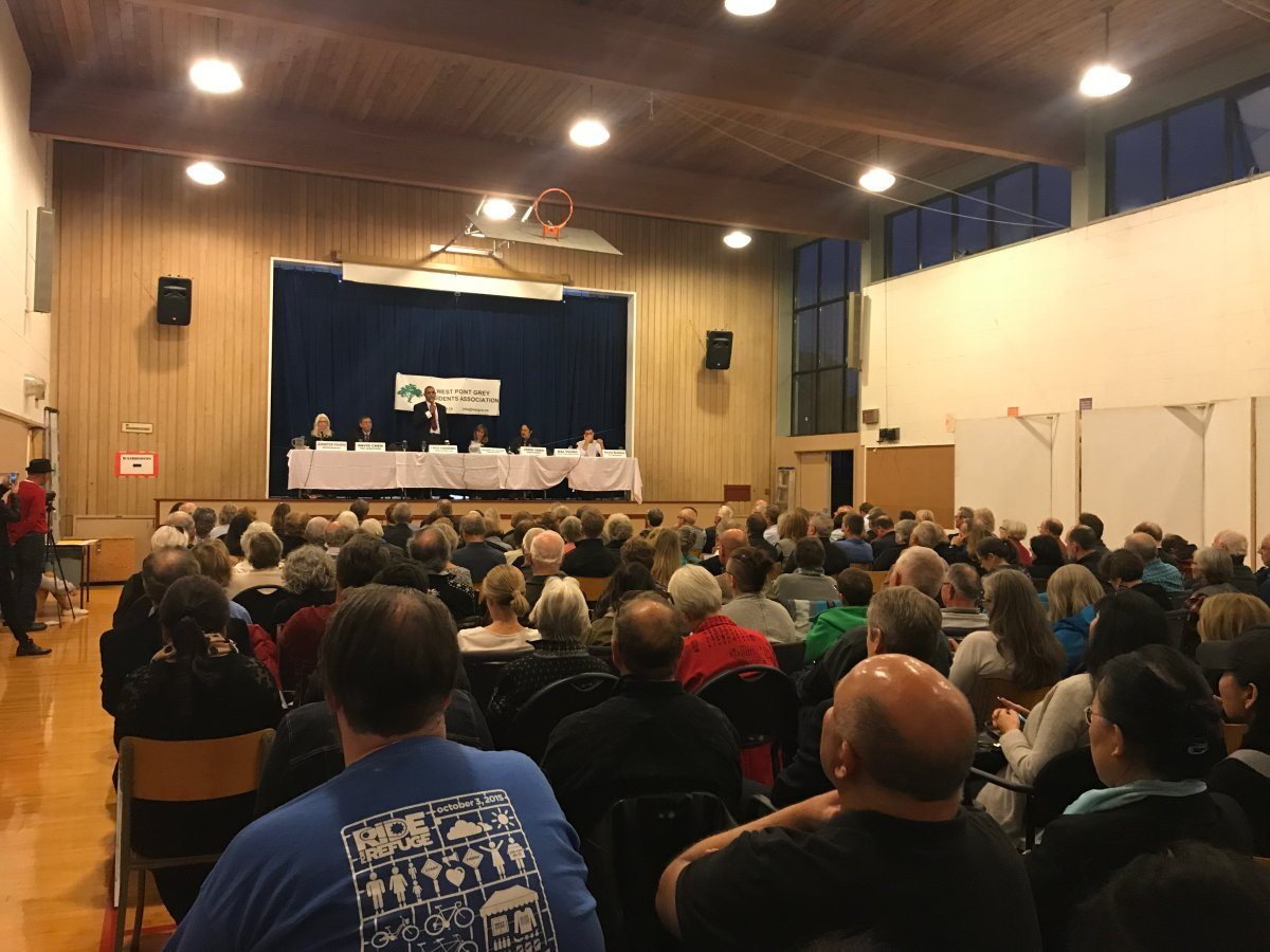 Several Vancouver mayoral candidates debate in West Point Grey - image
