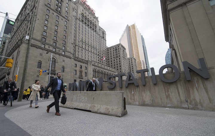 File photo of Union Station in downtown Toronto.