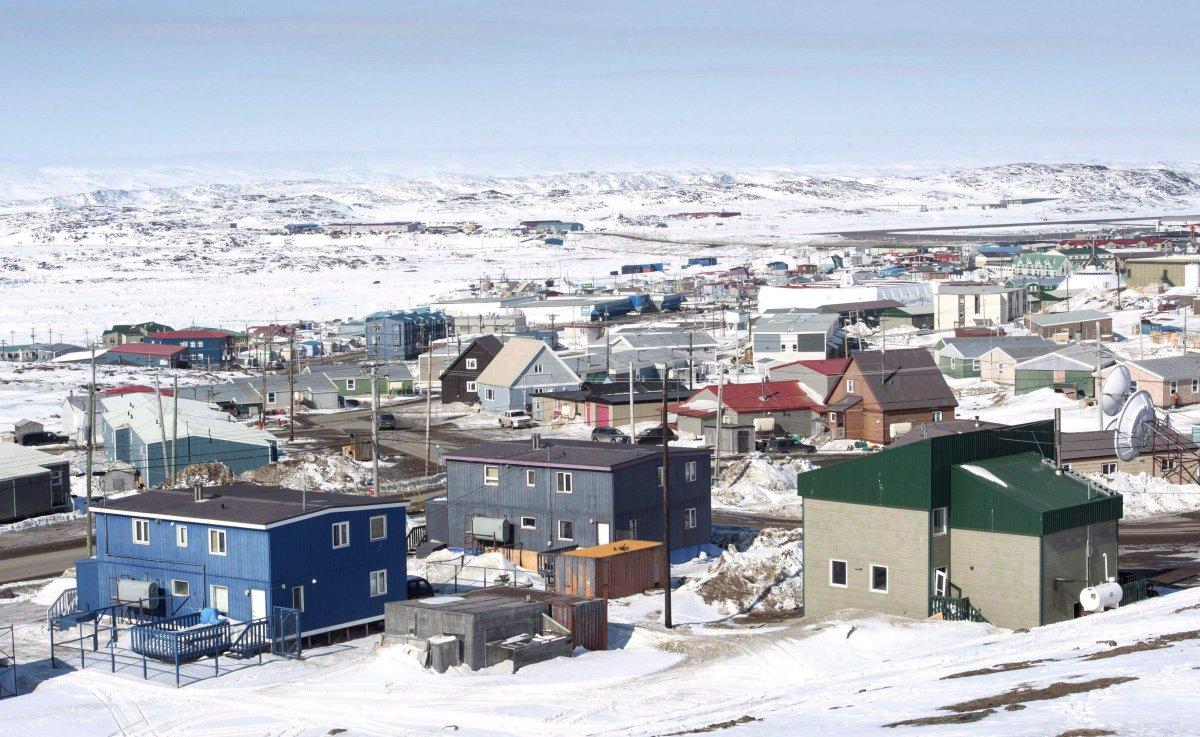 Iqaluit, Nunavut is shown in a Saturday, April 25, 2015 file photo.