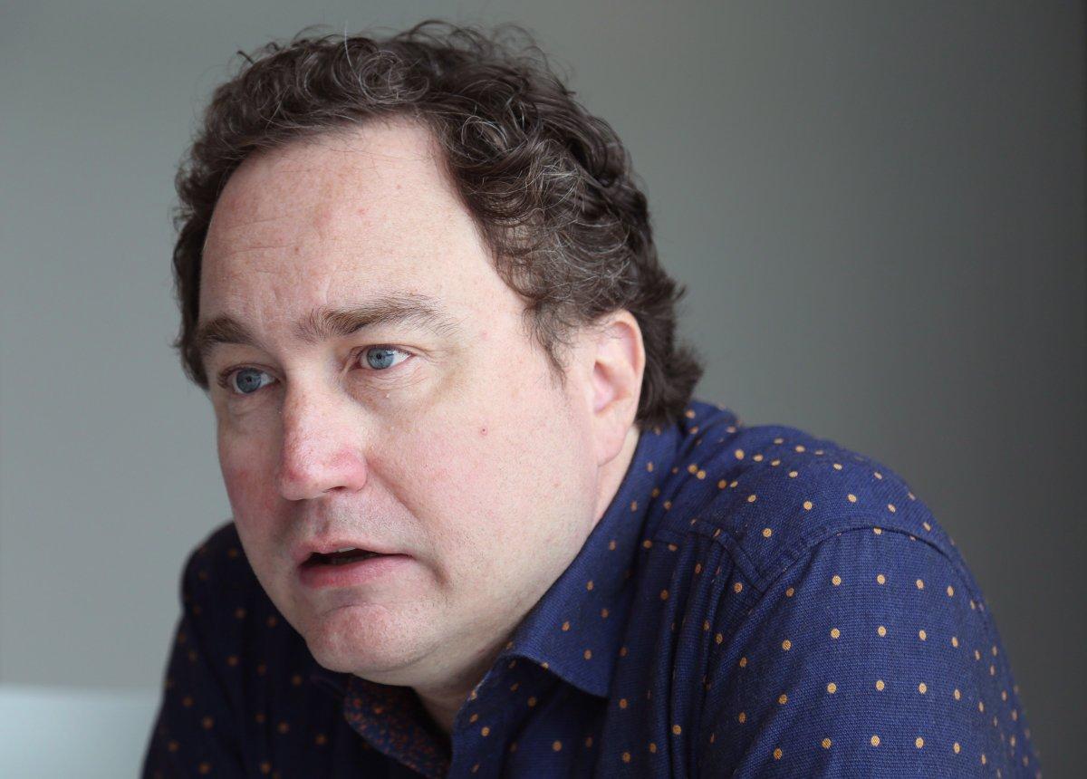 Mark Critch is seen during an interview at the ALT Hotel, in St. John's on Thursday, August 16, 2018.