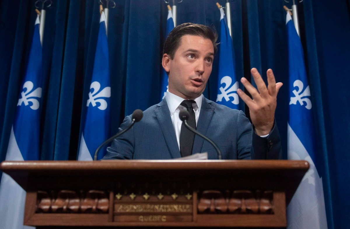 Coalition Avenir Quebec MNA Simon Jolin-Barrette said he wants to expand the province's French language charter to federally regulated corporations in Quebec.