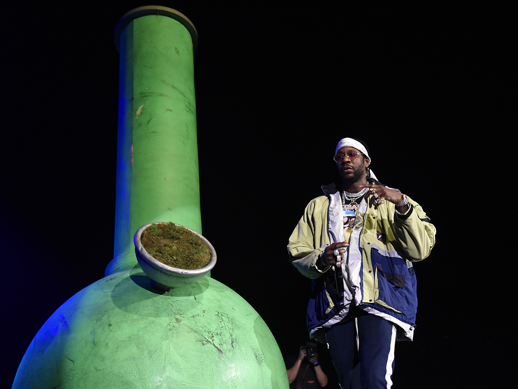 2 Chainz performs during Berner Presents Hippie Hill at Bill Graham Civic Auditorium on April 20, 2018 in San Francisco, Calif.
