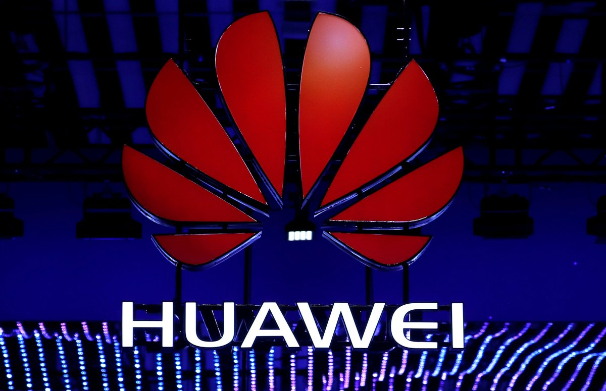 FILE PHOTO: The Huawei logo is seen during the Mobile World Congress in Barcelona, Spain, February 26, 2018.