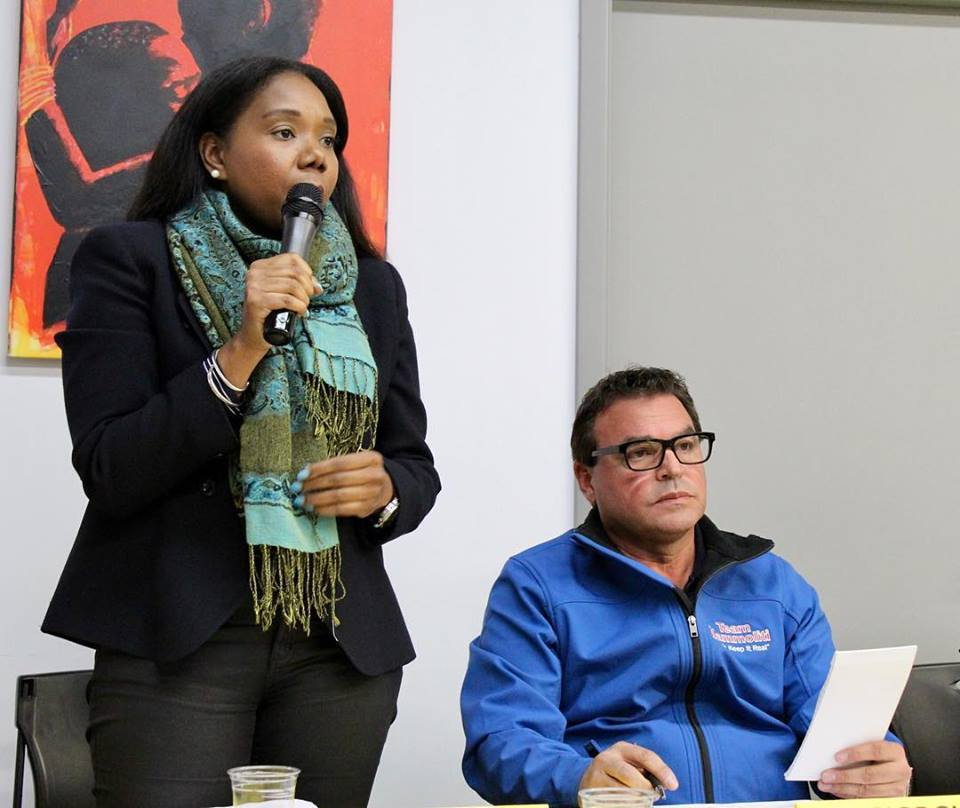 """In a comment apparently directed at Tiffany Ford's supporters, Giorgio Mammoliti said,""""Most of you respondents need to wake up to whats [SIC] happening to you.""""."""