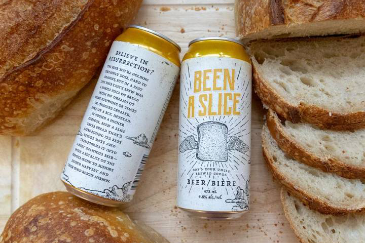 Second Harvest says the Been a Slice beer will be on shelves starting during the first week of November.
