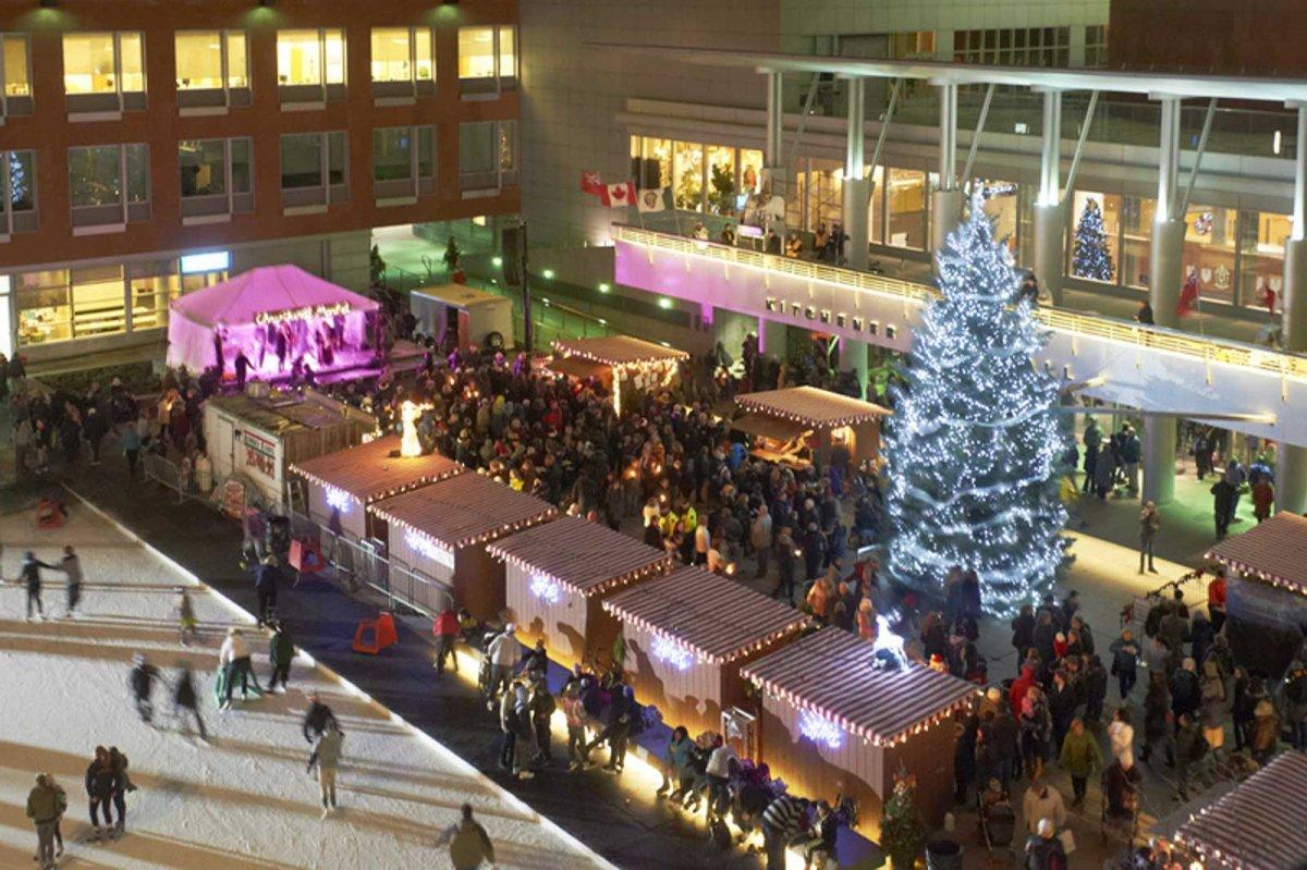 The Christkindl Market returns to Kitchener on Dec. 1.