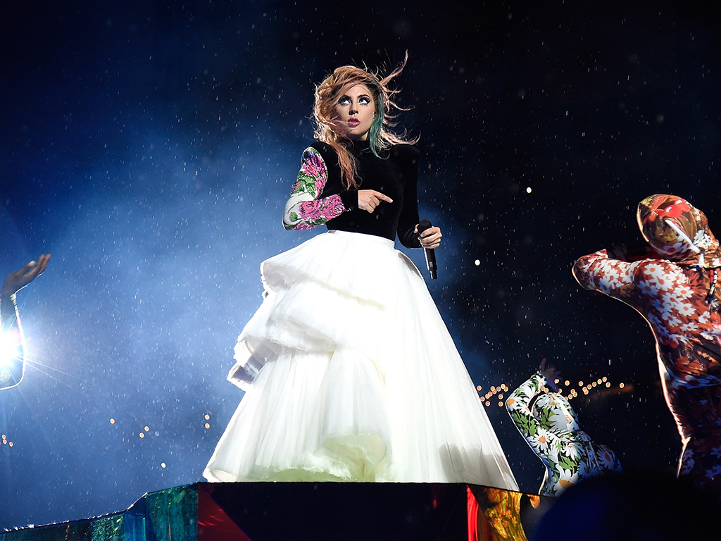 Lady Gaga performs during her Joanne World Tour at Citi Field on Aug. 29, 2017, in New York City, NY.