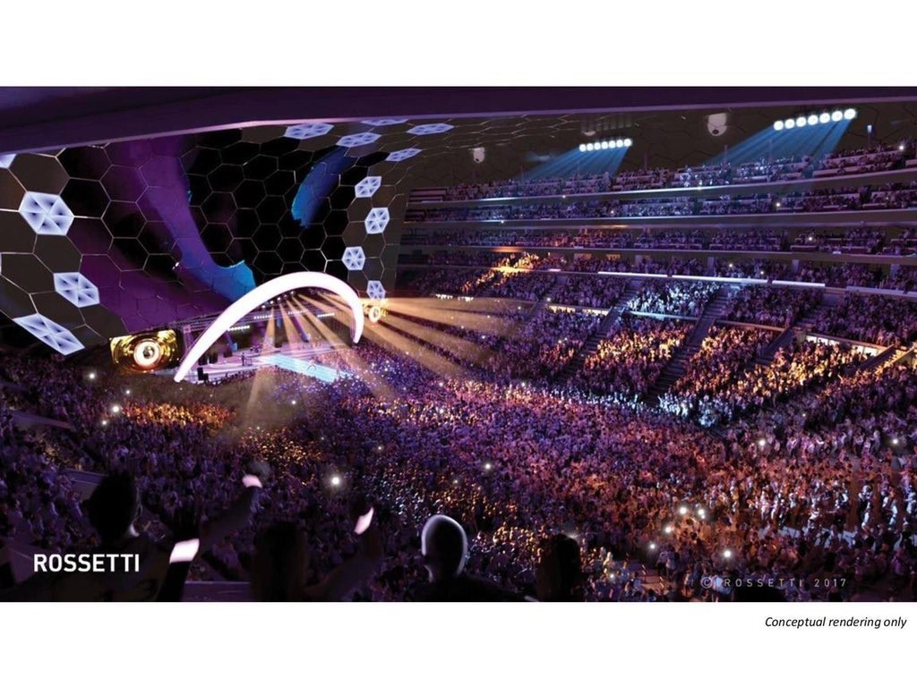Conceptual Designs For New Calgary Arena Released Council Asked To Approach Flames Rock 101