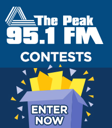 The Peak 95.1 FM - Enter Now