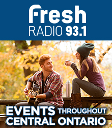 Fresh Radio 93.1 - Events throughout central Ontario