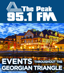 The Peak 95.1 FM - Events throughout the Georgian Triangle