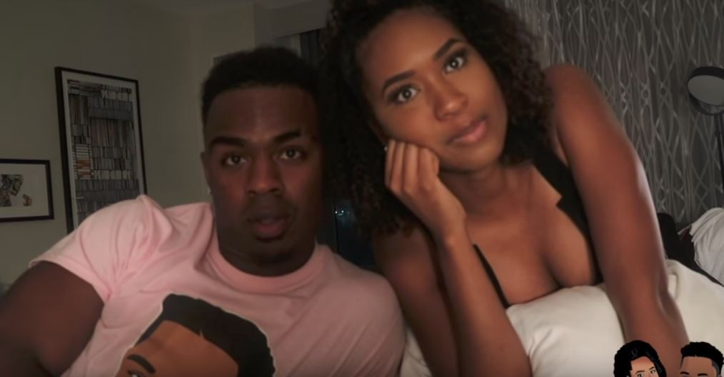 Chris (Swaggy C) Williams and Bayleigh Dayton uploaded a video to YouTube on Friday.