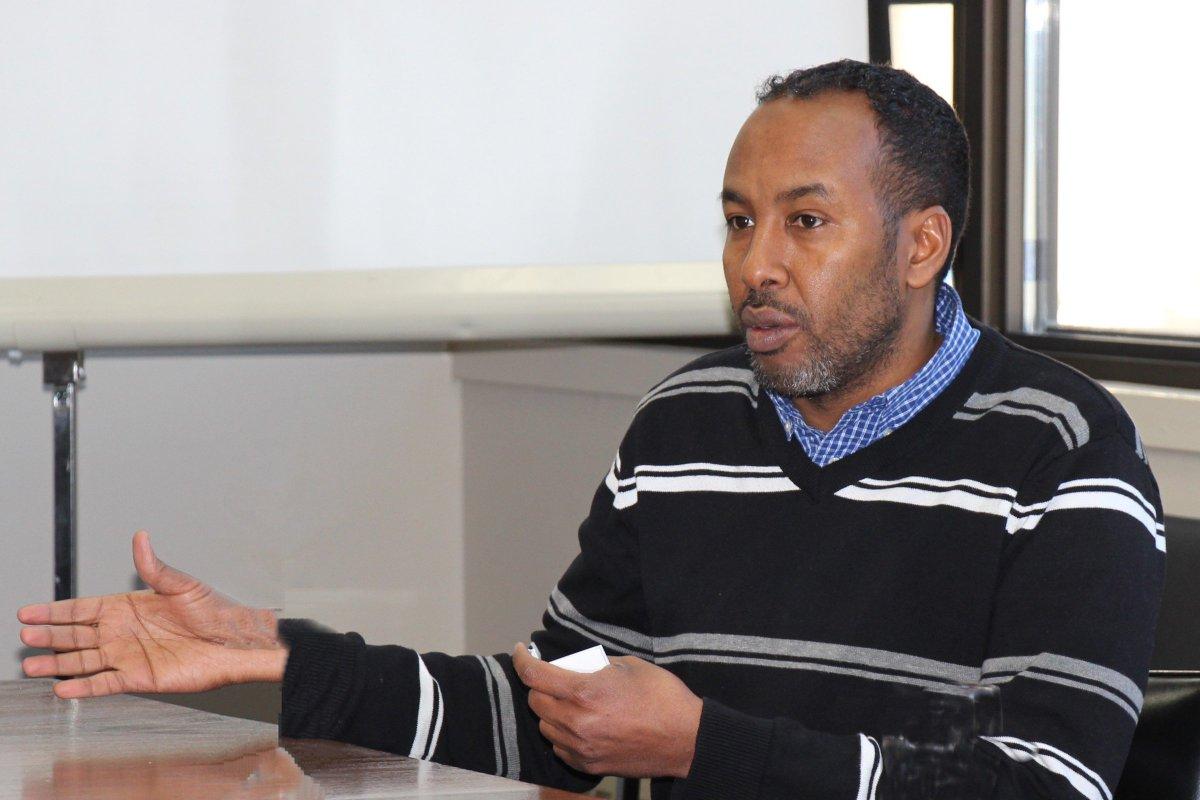 Immigration Partnership Winnipeg director Abdikheir Ahmed.