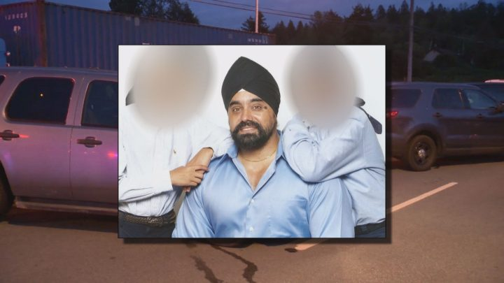 Suminder Singh was killed in a crash in Surrey on Friday night.