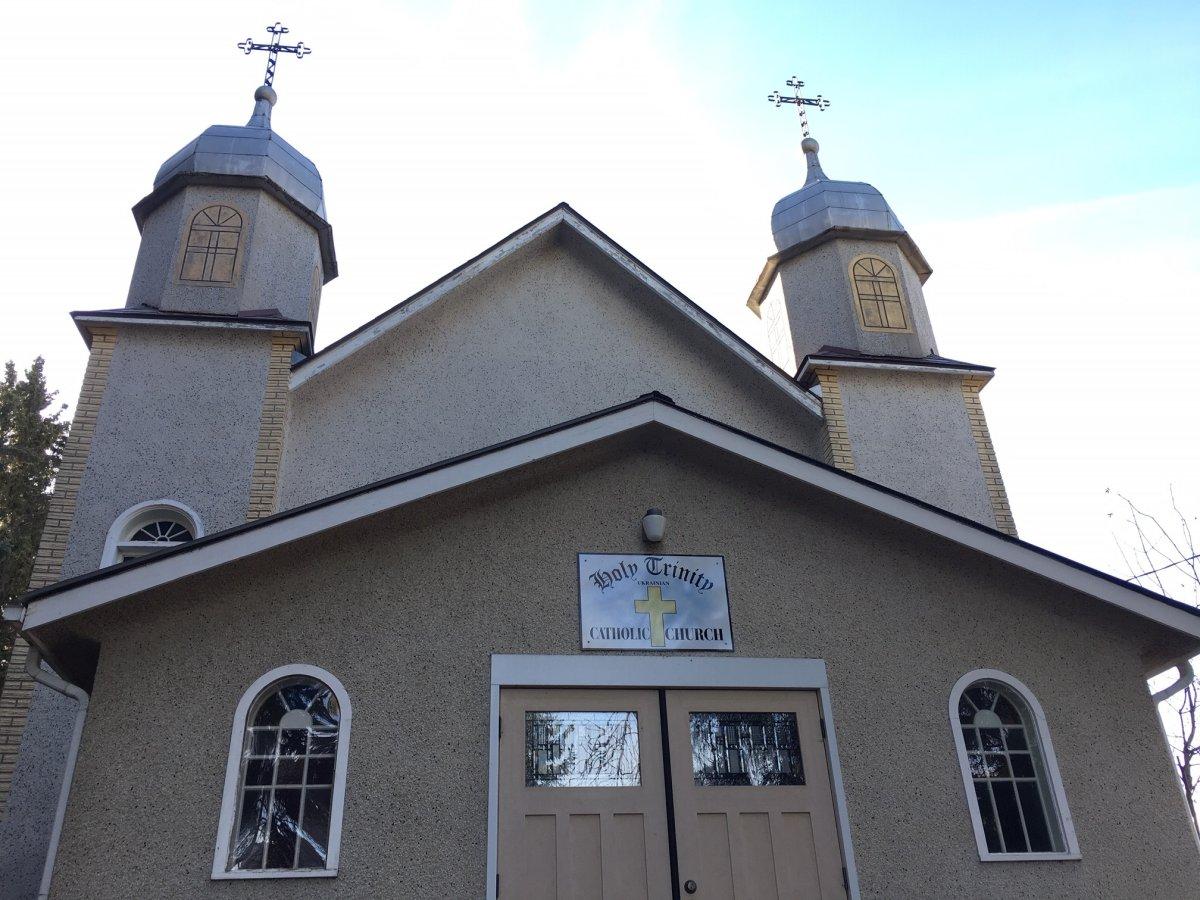 The Church of the Holy Trinity Ukrainian Catholic Church in Calmar, Alta.