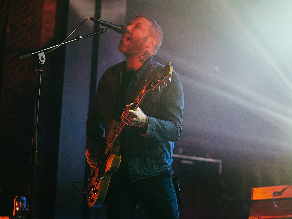 Dallas Green of City and Colour performs at Iron City on March 6, 2017 in Birmingham, Alabama.