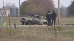 Continue reading: Car crashes near Southdale, erupts in flames, 5 people sent to hospital