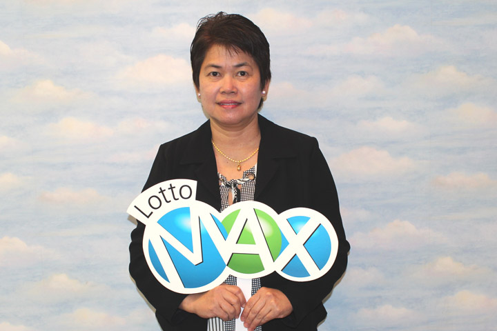 Digna Rico was checking her Lotto Max ticket on Sept. 29, when a number of zeros showed up on the screen.