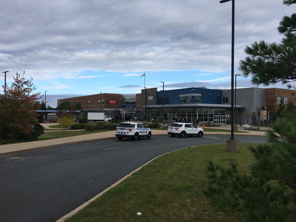 Halifax Regional Police were called to Halifax West High School Friday morning.