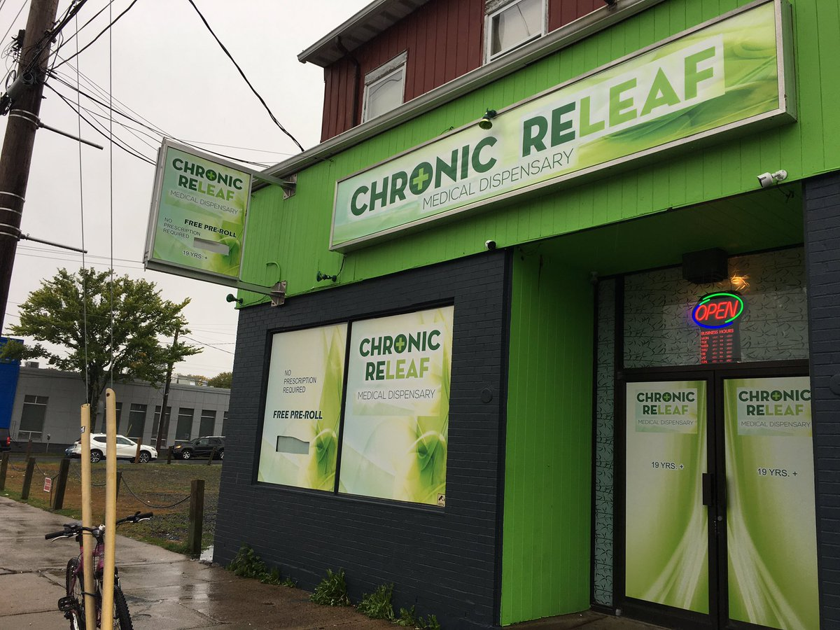 Investigators in the Special Enforcement Section of the Integrated Criminal Investigation Division conducted searches at Chronic Releaf Medical Dispensary, on Quinpool Road, and at Canna Clinic, on Dresden Row.