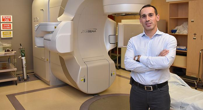 Dr. David Palma, researcher at Lawson and radiation oncologist at London Health Sciences Centre.