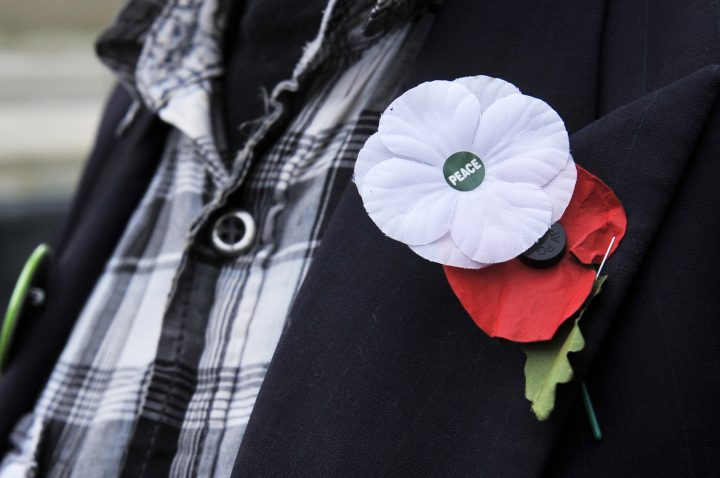 White poppies are growing in popularity in the U.K. Will the trend catch on in Canada?.