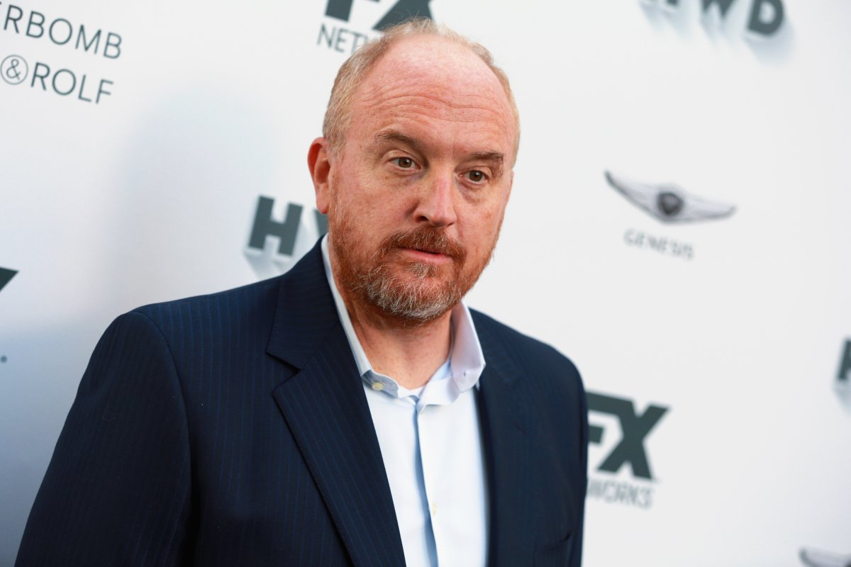 Louis C.K. attends FX and Vanity Fair Emmy Celebration at Craft on Sept. 16, 2017 in Century City, Calif.