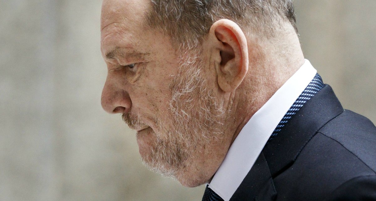 Former movie producer Harvey Weinstein arrives to State Supreme Court for a hearing in his sexual assault case in New York, New York, USA, 11 October 2018.