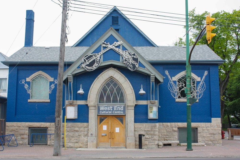 The West End Cultural Centre.