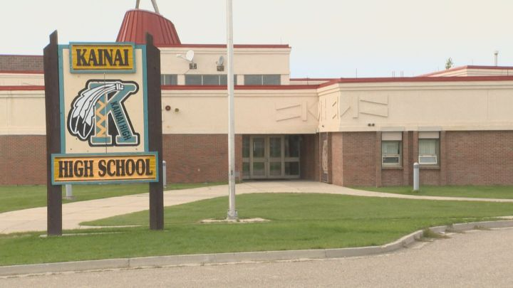 Kainai High School.