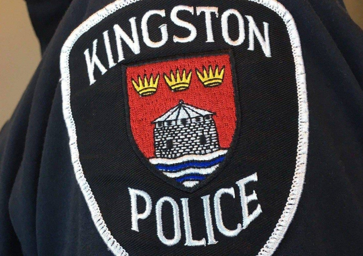 Kingston police have charged a man with assault following an incident on Saturday evening.