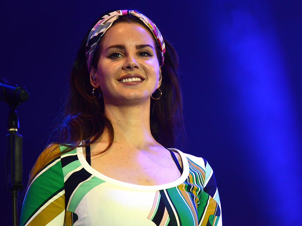 Lana Del Rey attends BBC Radio 1's Big Weekend 2017 at Burton Constable Hall on May 27, 2017 in Hull, United Kingdom.