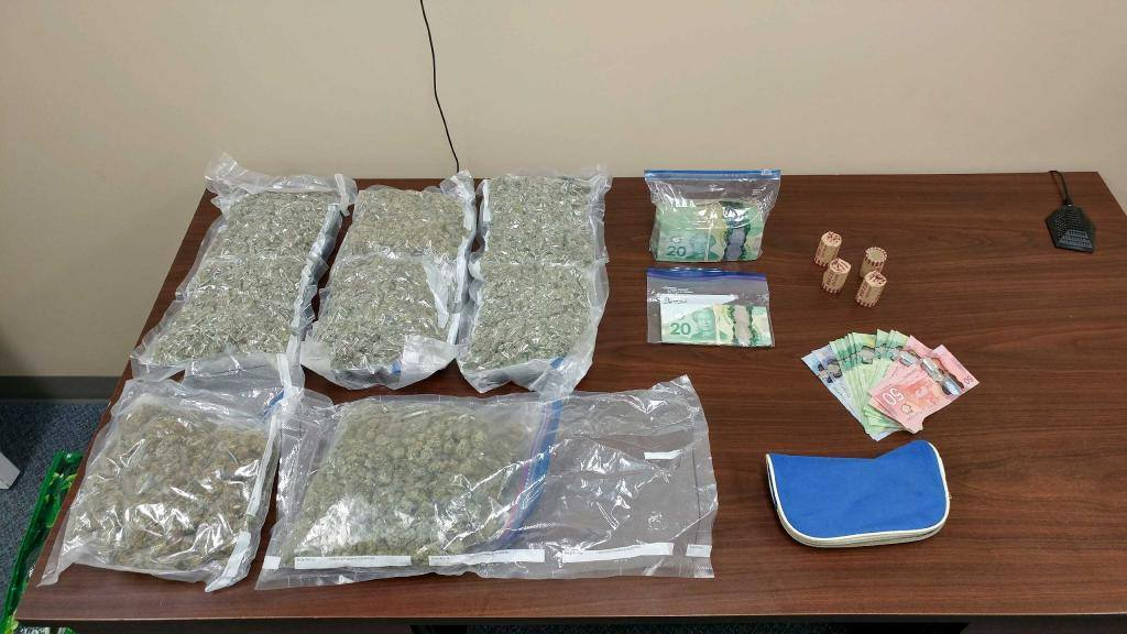 Lundar RCMP ended up recovering drugs and cash after pulling over a man on Highway 6 for speeding on Sept. 20.