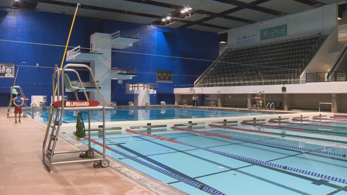 The Pan Am Pool officially reopens on Wednesday.