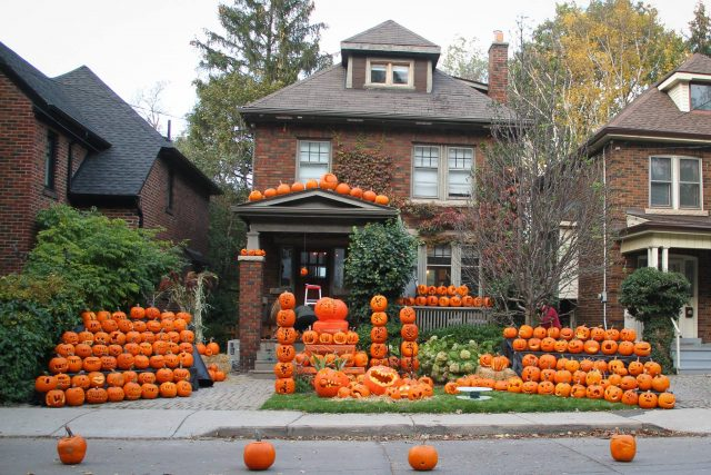The annual lighting of pumpkins on Glenfern Avenue in Hamilton is set for 6 p.m. on Halloween.