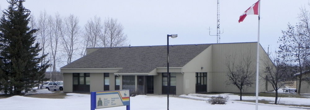 RCMP Amaranth detachment.