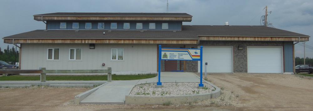 RCMP Opaskwayak Cree Nation detachment.