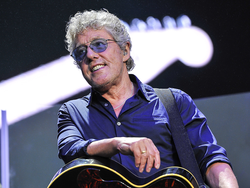 Roger Daltrey of The Who performs at Outside Lands Music.