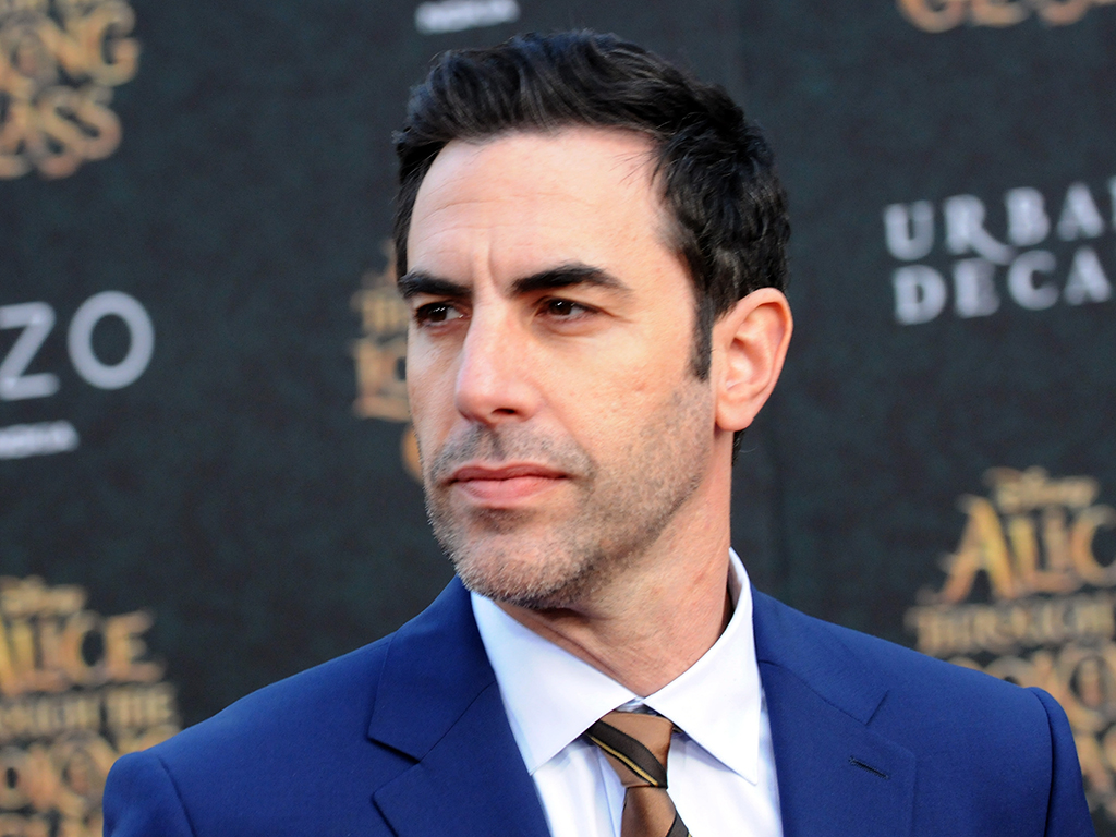 Sacha Baron Cohen arrives for the Premiere Of Disney's Alice Through The Looking Glass held at the El Capitan Theatre on May 23, 2016 in Hollywood, Calif.