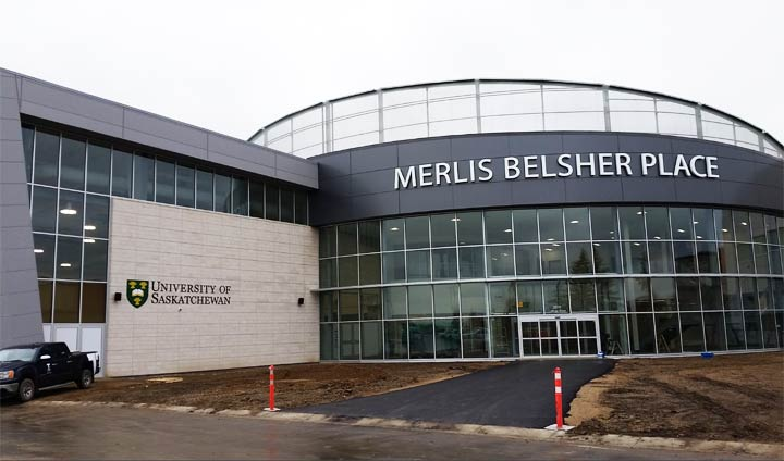 Merlis Belsher Place and Evraz Place were chosen as potential locations to hold several hundred COVID-19 patients.