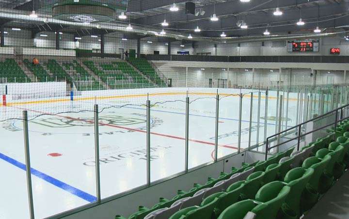 The Saskatoon Contacts will host its rival, the Saskatoon Blazers, for the first time ever at the newly-constructed Merlis Belsher Place later this season.