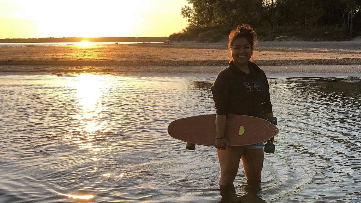 Robin Pacquing has been surfing in Canada for decades. While she didn't see herself reflecting in the sport growing up, she says the face of surfing has changed.