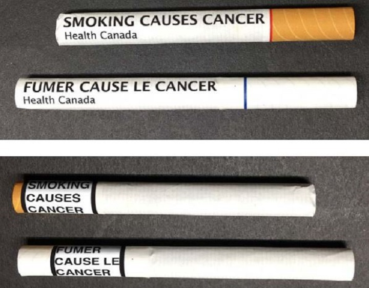 Health Canada is proposing putting a warning on individual cigarettes.