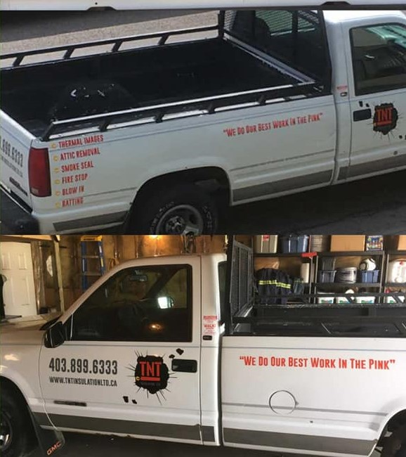 Pictures of a truck reported stolen from Tuxedo Park on Friday, October 5.