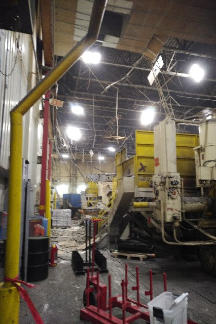 A view inside the Meridian plant on High Street East in Strathroy following an explosion on the evening of Monday, Oct. 22, 2018.