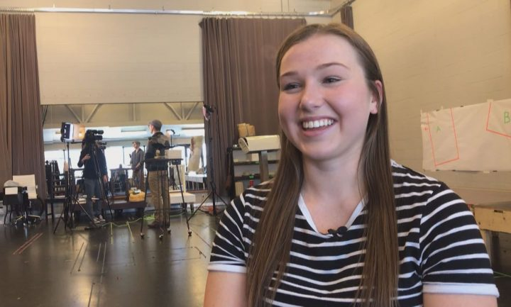 """Calgary actor Katie McMillan, 18, will make her Theatre Calgary debut in the world premiere of """"Mary and Max - A New Musical"""" later this month."""
